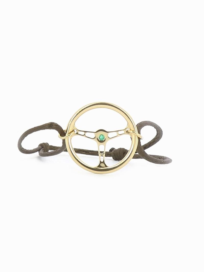 Bracelet Volant Émeraude