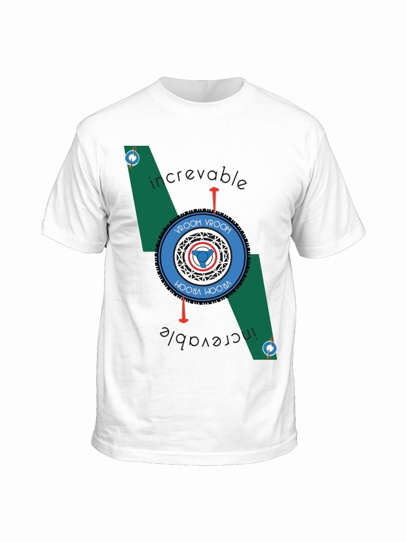 T-shirt Increvable Vroomer