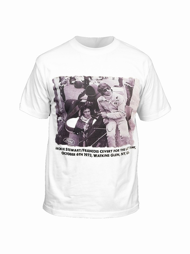 T-shirt Watkins Glen 1973 Vroomer