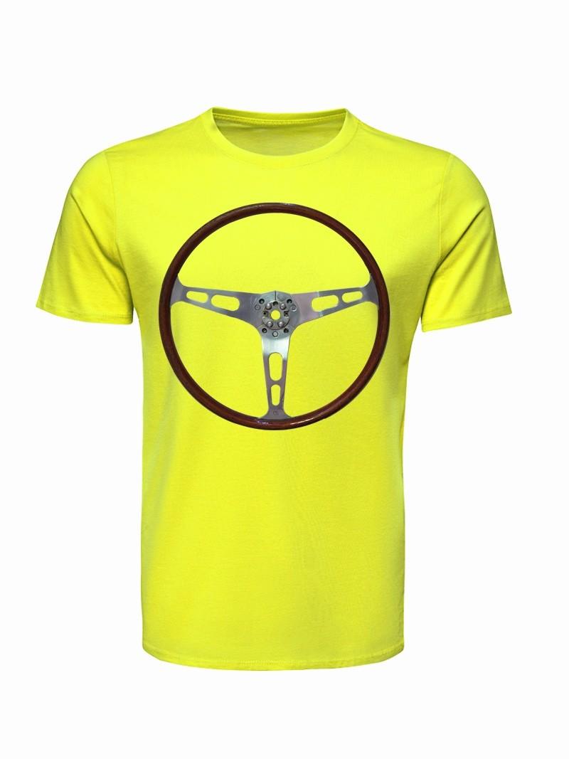 T Shirt Volant Vroom Vroom FLUO