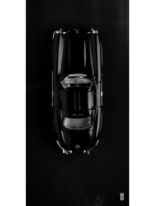 Photographie Petit Bolide  : 300SL fond noir