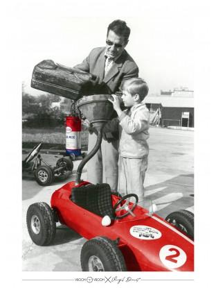 WALLPAPER : Père et Fils - Bolide rouge
