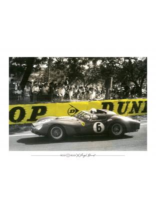 WALLPAPER : Ferrari 330 TRI LM Spyder - 24H du Mans 1962
