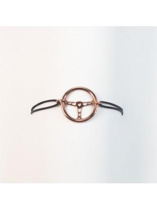Bracelet Volant OR CHOCOLAT - Argent Plaqué Or