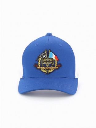 Casquette Écusson Bleu Royal