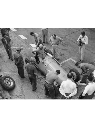 Plexiglas HD Ferrari dans les stands, 1954