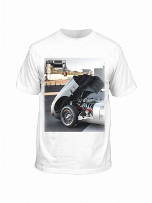 "T-shirt ""Under the bonnet"" E-type"
