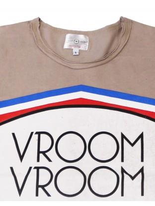 T-shirt Blason - Noisette
