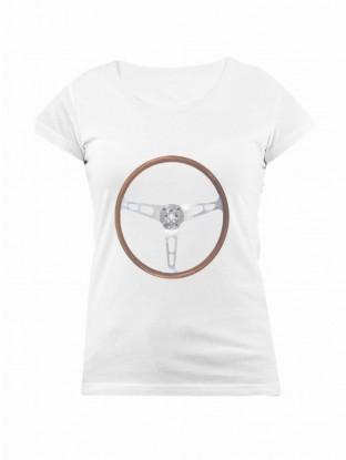 T-shirt Volant Vroomette