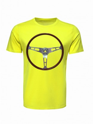 T Shirt Volant Vroom Vroom FLUO